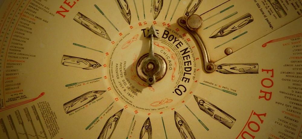 Boye Needle Company Display